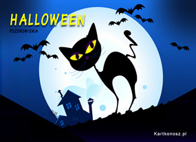 eKartki Halloween Pozdrowienia na Halloween,
