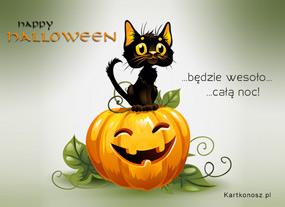 eKartki Halloween Radość w Halloween,