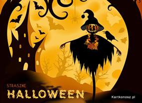 e Kartki Halloween Straszne Halloween,