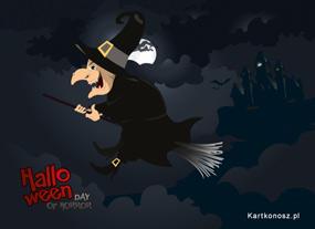 eKartki Halloween Wiedźma,