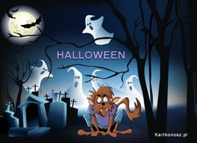 eKartki Halloween Wilkołak,