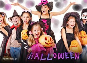 eKartki Halloween Zabawa Halloween,