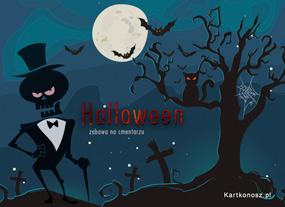 e Kartki  z tagiem: Darmowe kartki na Halloween Zabawa na cmentarzu,