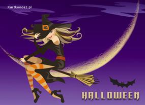 eKartki Halloween Zalotna Czarownica,