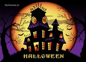 eKartki Halloween Zamczysko strachów,