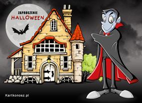 eKartki Halloween Zaproszenie Draculi,