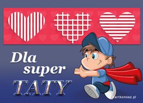 eKartki Z okazji Dnia Dla Super Taty,