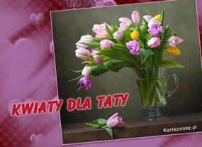 eKartki Z okazji Dnia Kwiaty dla Taty,