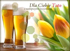 e Kartki   Tulipany dla Taty,