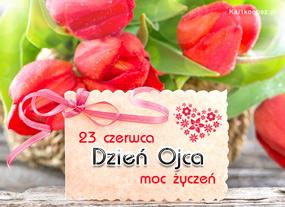 e Kartki  z tagiem: Kartki na Dzień Ojca Tulipany na Dzień Ojca,