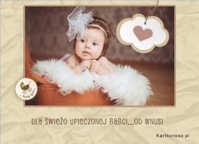 e Kartki  z tagiem: Darmowe kartki na Dzień Babci Dla Babci od wnusi,