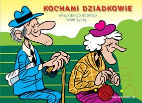 eKartki Z okazji Dnia Kochani Dziadkowie,