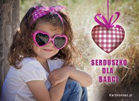 eKartki Z okazji Dnia Serduszko dla Babci,