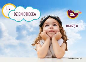 e Kartki  z tagiem: Kartki na Dzień Dziecka Dziecięce marzenia,
