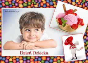 e Kartki  z tagiem: Kartki na Dzień Dziecka Dziecięce smakołyki,