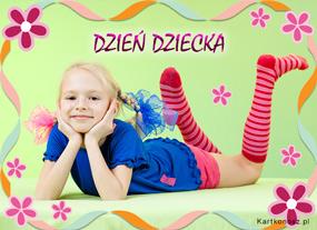 eKartki Z okazji Dnia Kartka na Dzień Dziecka,