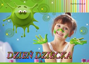 e Kartki  z tagiem: Kartki na Dzień Dziecka Kolorowy dzień,