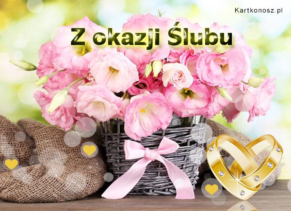Ślubne kwiaty
