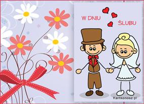 eKartki Z okazji Dnia e-Kartka ślubna,