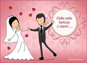 eKartki Z okazji Dnia Ślub i wesele,