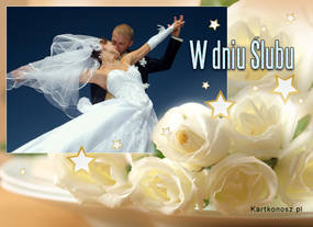 eKartki Z okazji Dnia W dniu Ślubu,
