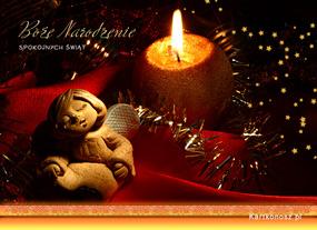 eKartki Religijne Blask Bożego Narodzenia,