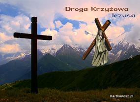 eKartki Religijne Droga Krzyżowa,