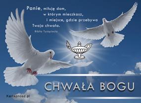 e Kartki  z tagiem: e-Kartka religia Chwała Bogu,