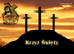 eKartki Religijne Krzyż Święty,