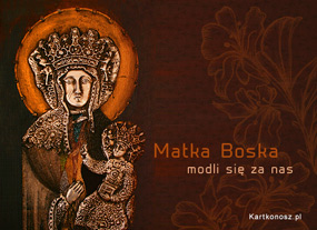 eKartki Religijne Matka Boska,