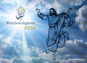 eKartki Religijne Wniebowstąpienie Jezusa,