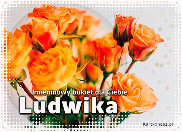 Bukiet dla Ludwiki