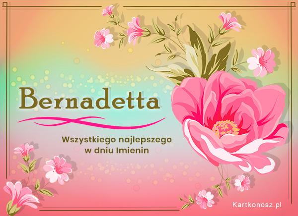 Dla Bernadetty