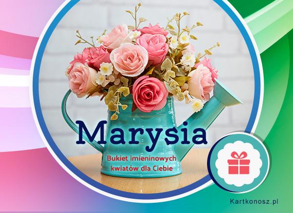Marysia - Kartka Imieninowa