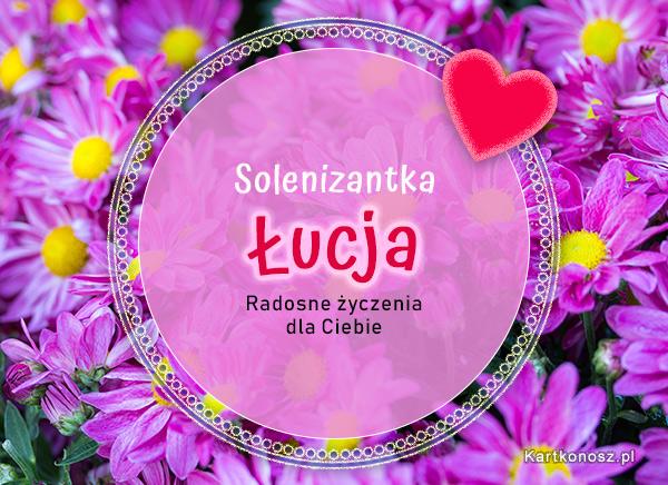Solenizantka Łucja