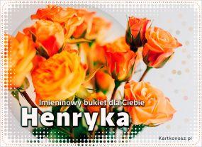 eKartki Imieniny Bukiet dla Henryki,