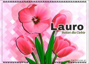 Bukiet dla Laury