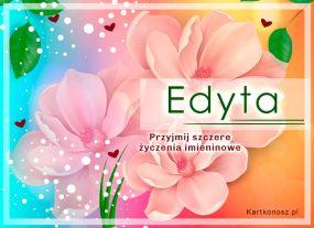 Edyta - Kartka Imieninowa