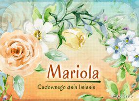 Imieniny Marioli