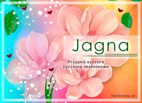 Jagna - Kartka Imieninowa