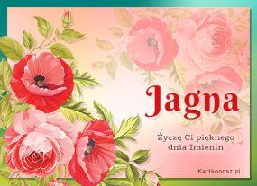 Kartka dla Jagny