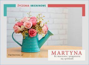 Kartka dla Martyny