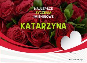 eKartki Imieniny Katarzyna - Kartka Imieninowa,