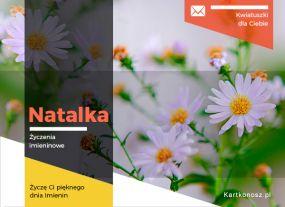 Kwiatuszki dla Natalki