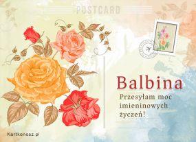 Pocztówka dla Balbiny