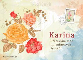 Pocztówka dla Kariny