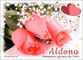 eKartki Imieniny Róże dla Aldony,