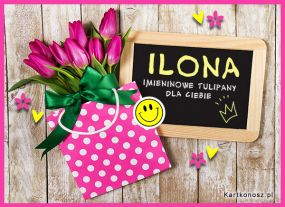 Tulipany dla Ilony