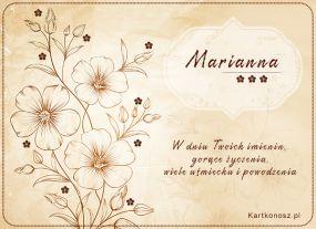 W dniu Imienin Marianny