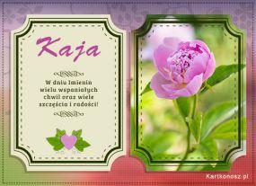 Życzenia dla Kai
